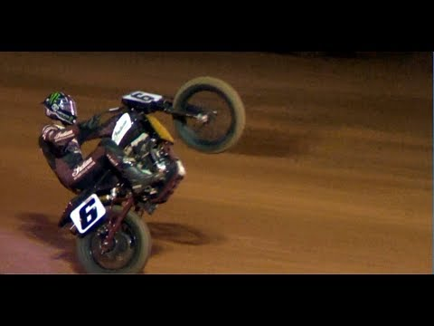 2018 Motorcycle Flat Track races Travelers Rest Speedway TR
