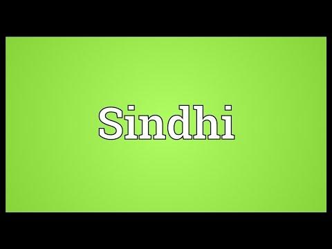 Sindhi Meaning