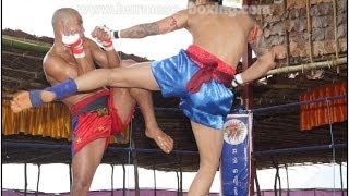 Lethwei Burmese Boxing [HD] - Fight Tournament near Eindu (2) - Kayin State Myanmar - Thingyan 2013