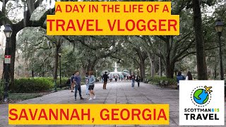 A Day in the Life of a Travel Vlogger | Visiting Savannah Georgia