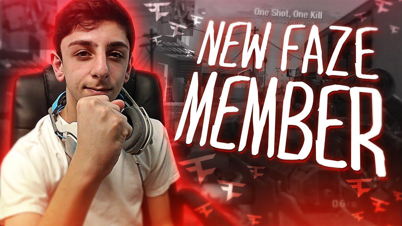 New Faze Member Faze Rug Youtube