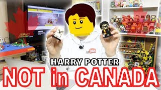 HARRY POTTER LEGO SETS NOT AVAILIBLE in CANADA?