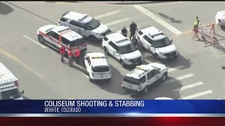 Denver police respond to shooting at motorcycle expo