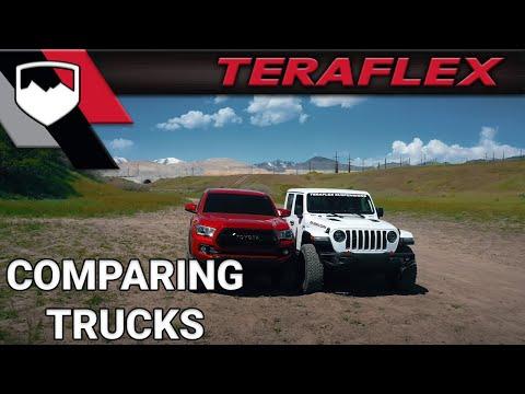 Jeep Gladiator vs. Toyota Tacoma | TeraFlex