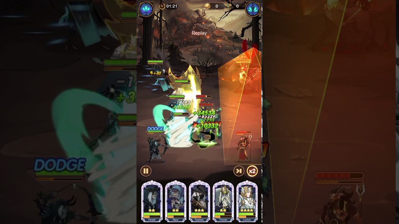 AFK Arena stage 22-57 - YouTube