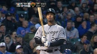 CWS@CHC: Sierra goes 4-for-4 against the Cubs