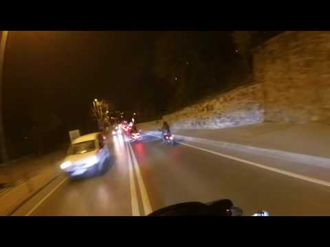 """H.O.G Bosphorus Istanbul Night Ride 😎🤘🏍💨 Full Video """"The opening of the season in 2017"""""""