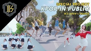 [KPOP IN PUBLIC CHALLENGE] AH CHOO + ONLY YOU + SHINE Dance cover by M.S Crew's Trainees