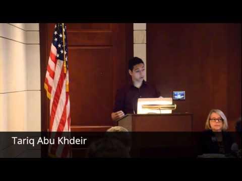 Tariq Abu Khdeir Speaks at Congressional Briefing