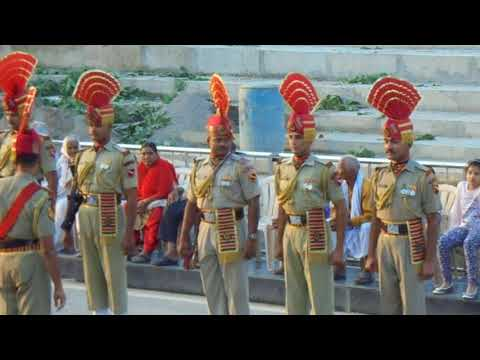 India - Pakistan Border Retreat Ceremony at Wagah