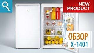видео Холодильник без морозильной камеры: однокамерные модели