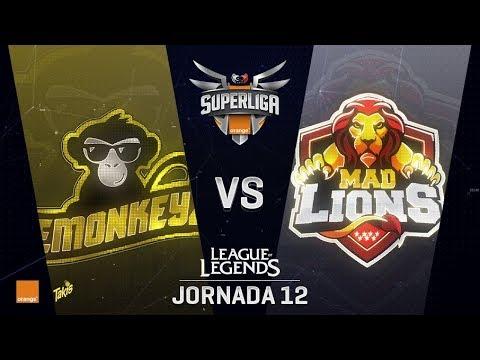 SUPERLIGA ORANGE - EMONKEYZ VS MAD LIONS - Mapa 1 - #SUPERLIGAORANGELOL12