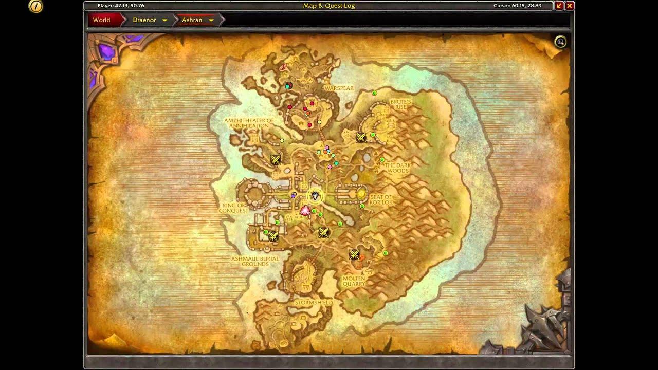 Ashran Treasure Route - YouTube
