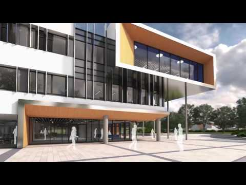 Fly-through of the new Business School and Growth Hub