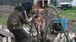 видео скважина на воду московская область