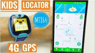 Recenzja: Kids Locator 4G MT864 dziecięcy smartwatch z lokalizatorem GPS LBS WIFI
