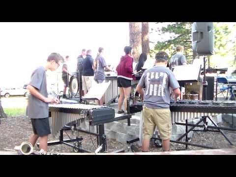 Lake Tahoe Music Camp 2017 Percussion Ensemble - Vibes