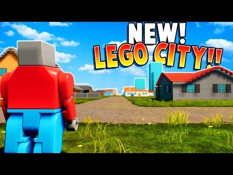 BRAND NEW LEGO CITY UPDATE FOR BRICK RIGS!! (Brick Rigs Gameplay Update New Map!)