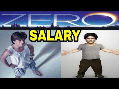 ZERO movie star cast salary .(2018).