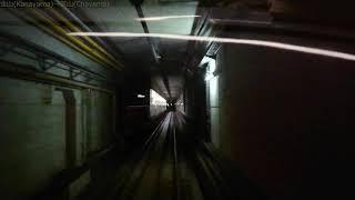 【全区間後面展望】福岡市営地下鉄 七隈線 天神南行 橋本〜天神南