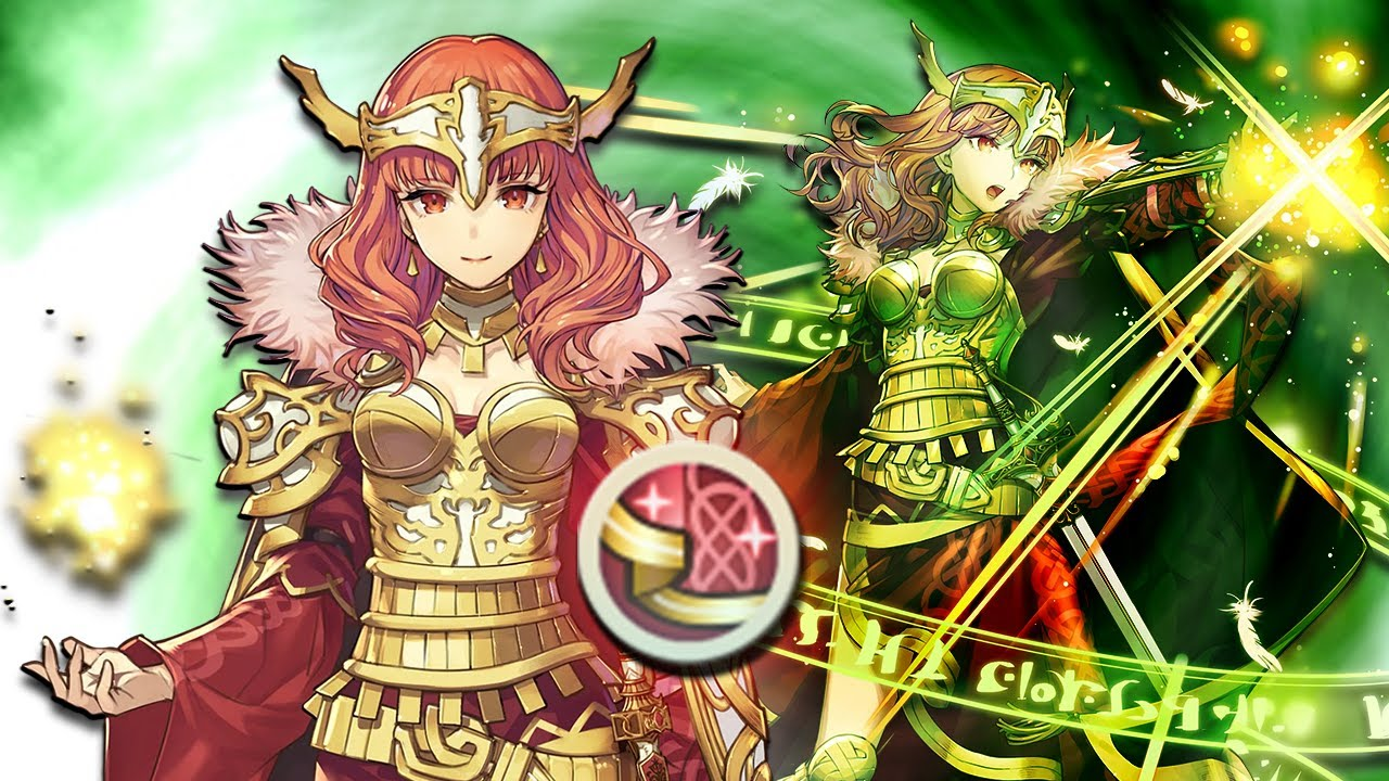 Fire Emblem Heroes Adds In Legendary Celica To Match