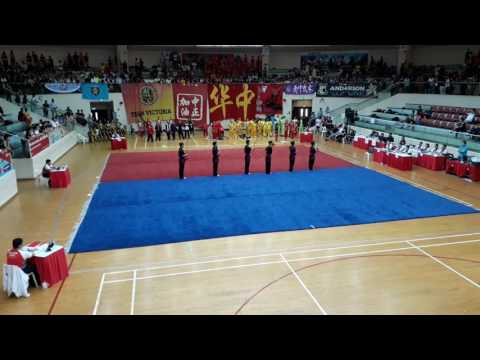 MJC A Boys Group Weapon @ 13th National School Games Wushu Championships 2017