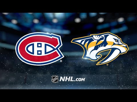 Forsberg, Rinne power Preds past Habs for 3-2 SO win