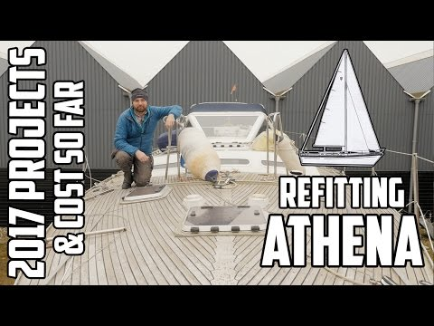 Sail Life - Upcoming DIY sailboat projects & what does it cost to restore an old sailboat