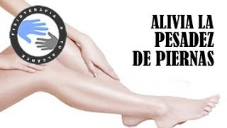 De pesadas tratamiento piernas
