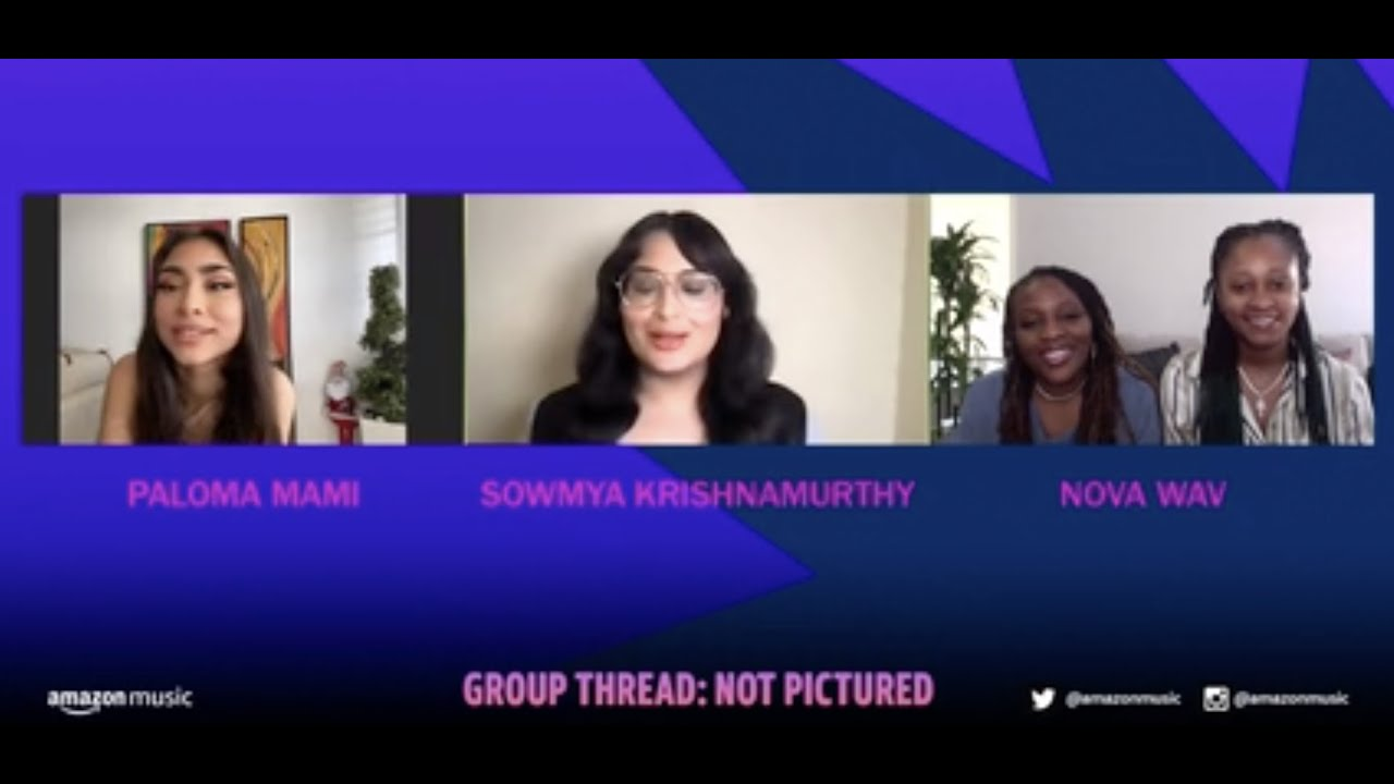 Group Thread: Not Pictured   Paloma Mami + NOVA WAV   WHM Panel   Amazon Music