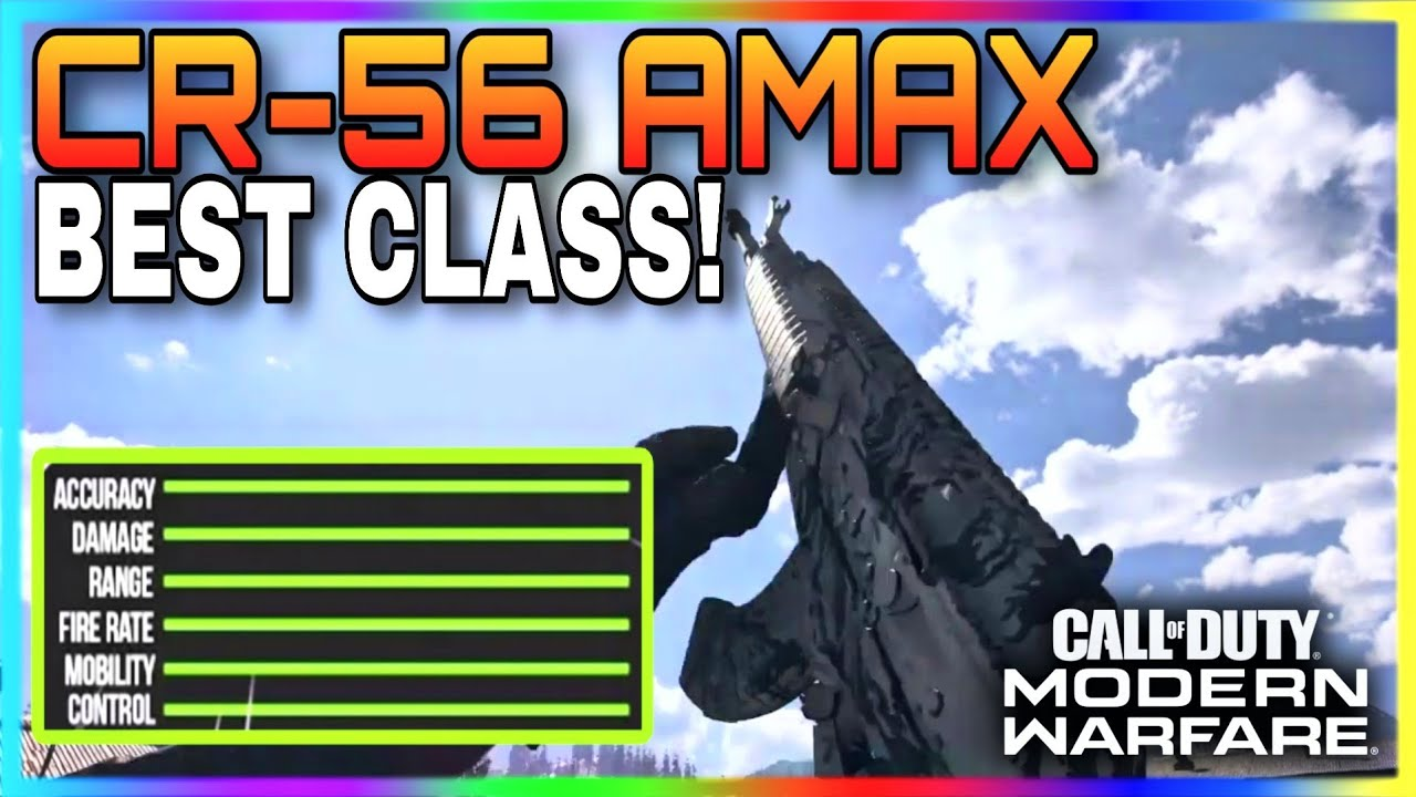 *NEW* BEST CR-56 AMAX CLASS SETUP in MODERN WARFARE | 3 SHOT GALIL CLASS SETUP! (COD MW 1.22)