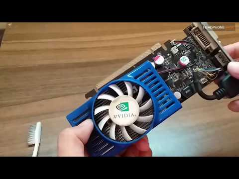 CLEANING MY OLD GPU (GF 9400GT 1GB 128 BIT) WITHOUT  THERMAL PASTE | BEST PERFORMANCE