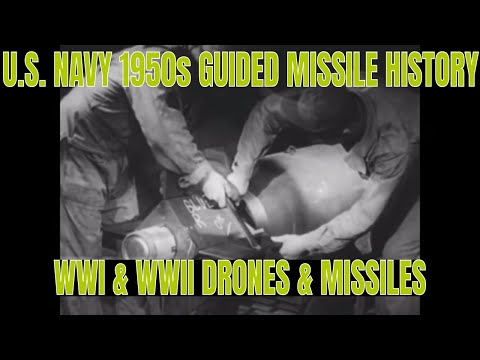 U.S. NAVY 1950s GUIDED MISSILE HISTORY WWI & WWII DRONES & MISSILES 43474 USNA