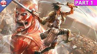 Attack on Titan Wings of Freedom Gameplay PC HD [1080p/60fps] [Steam]