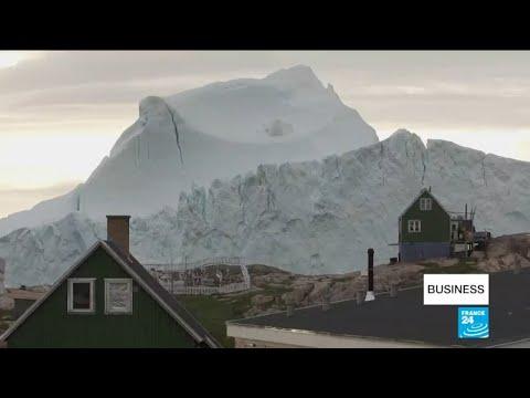11-million-ton iceberg looms over Greenland village