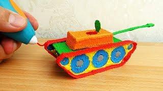 видео 3D ручка aliexpress