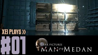 XEI Plays The Dark Pictures: Man of Medan (Blind) #1 | Co-Op with Angel Arts