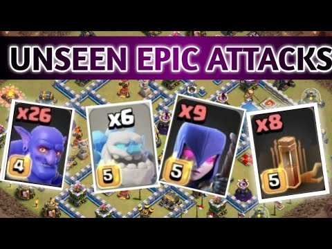 8 Earth Spell & Mass Witch Slap!! New Th12 War 3 Star Attack Strategy!! Clash of clans.