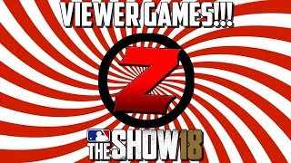 FIRST OFFICIAL VIEWER GAMES!!! + Maybe Some Battle Royale | MLB THE SHOW 18 Diamond Dynasty