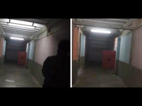 ¿Puerta de la morgue cobra vida propia? 2017