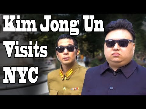 KIM JONG UN VISITS NYC - PART 2 (10 Hours of Walking)