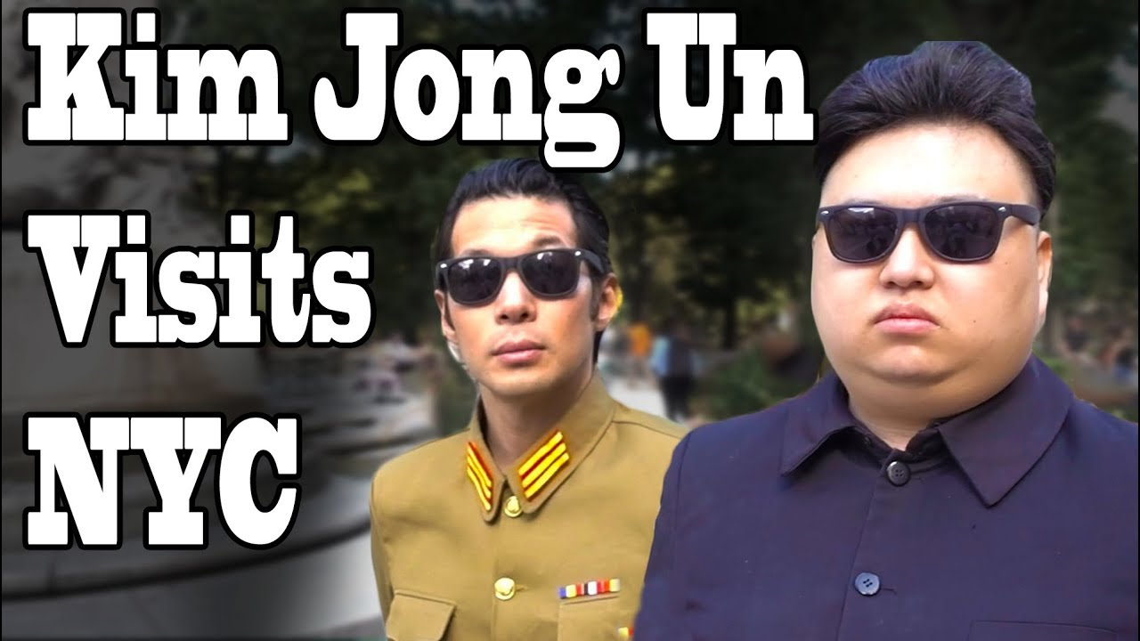Kim Jong Un Visits Nyc Part 2 10 Hours Of Walking Youtube