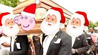 Peppa and Santa Coffin Dance Meme