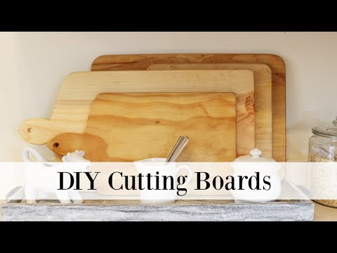 diy cutting boards how to make your own cutting board youtube
