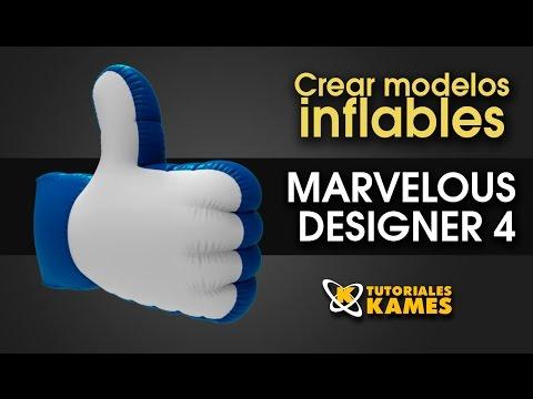 Tutorial Marvelous Designer creando modelos inflables 3D
