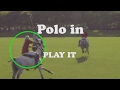 Professional Polo Play the Ball