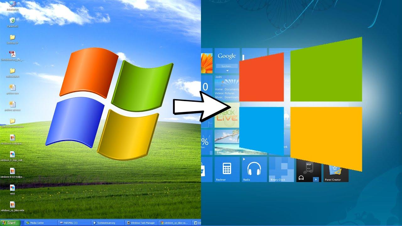 Desktop-Mods - Windows XP - YouTube