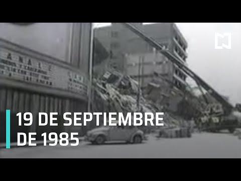 Así se vivió el terremoto del 19 de Septiembre de 1985