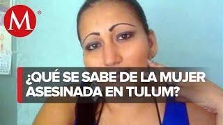 Mujer asesinada por policias era proviniente de El Salvador