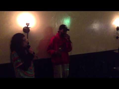 Karaoke @ The Hive Lounge 12-27-13 Dj Donny G